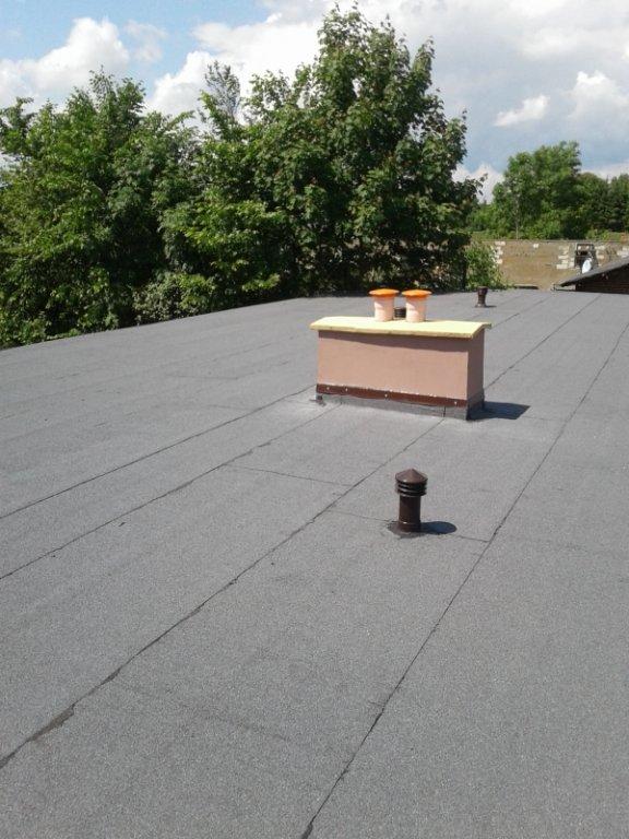 Dach świetlicy w Dębieniu został wyremontowany