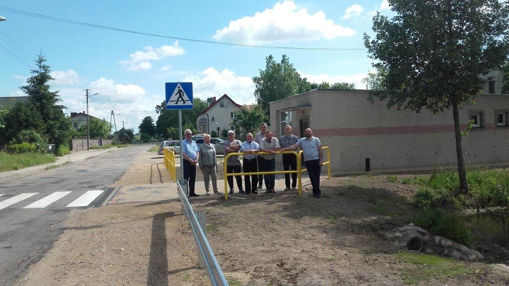 Przebudowa drogi w Prusach