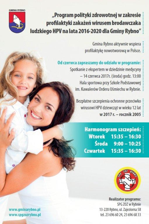 HPV - szczepienia profilaktyczne