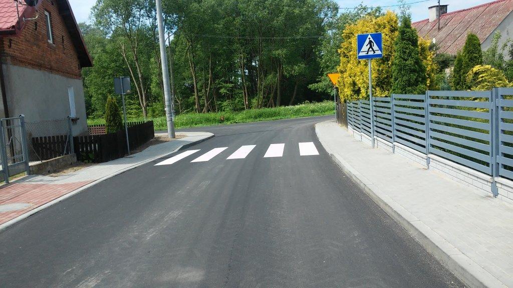 Odbiór drogi w Koszelewach