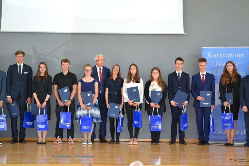 Gala laureatów konkursów przedmiotowych