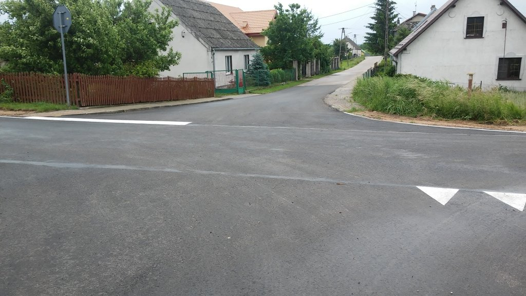 Postęp robót na drogach