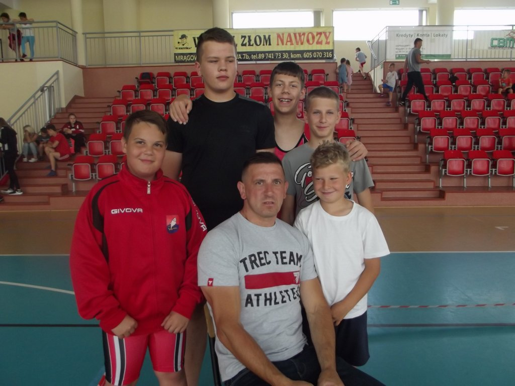 SP w Rumianie zdobyła I miejsce w turnieju zapaśniczym