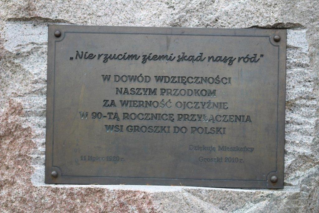 Groszki: Plebiscyt Warmii i Mazur wraz z Festynem Rodzinnym