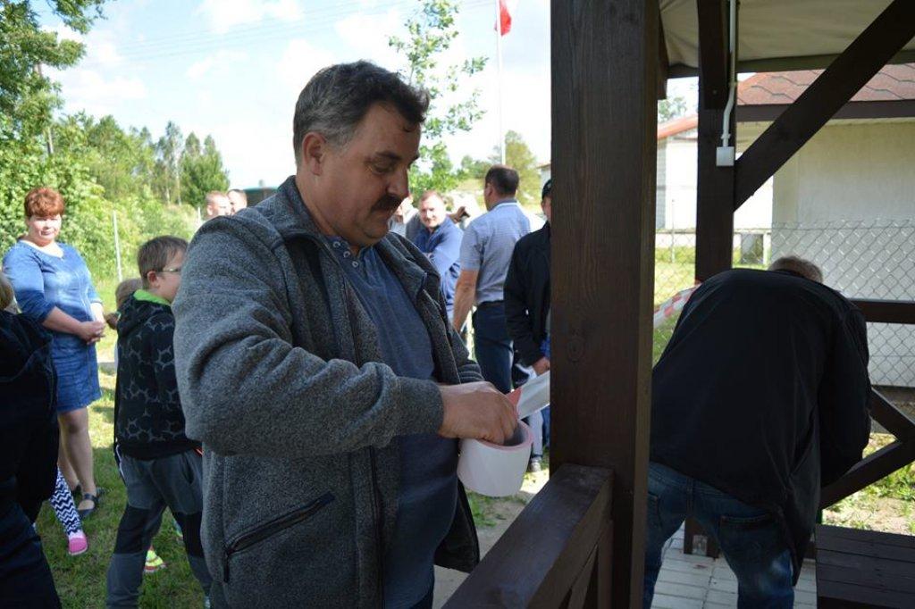 Groszki: Otwarcie wiaty sołeckiej