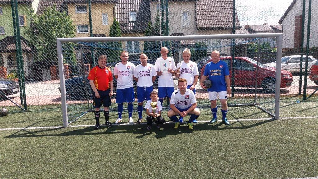 Gmina Rybno ugrała II miejsce w turnieju