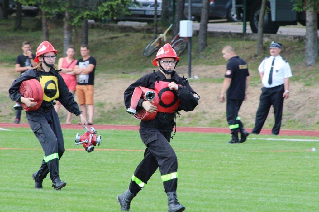 Gminne zawody sportowo-pożarnicze 2017