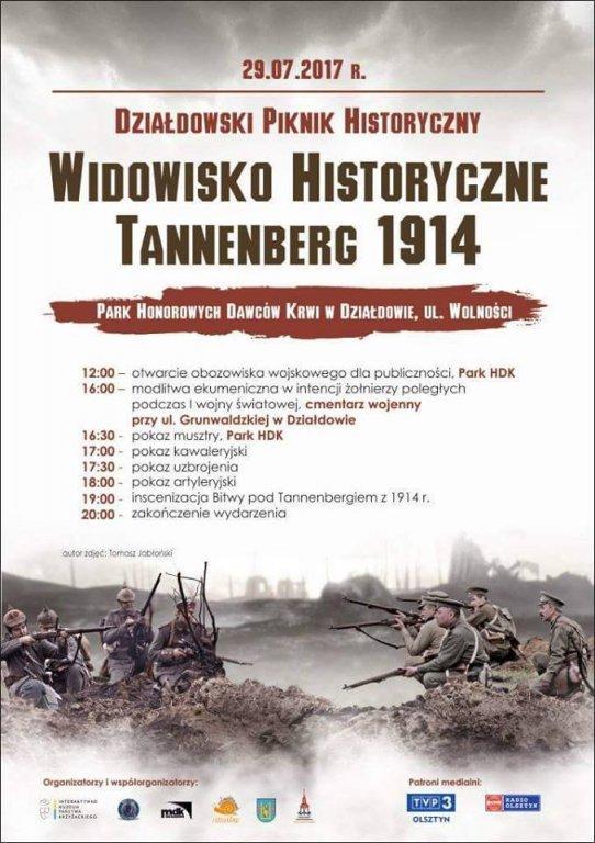 Tannenberg 1914 w Działdowie