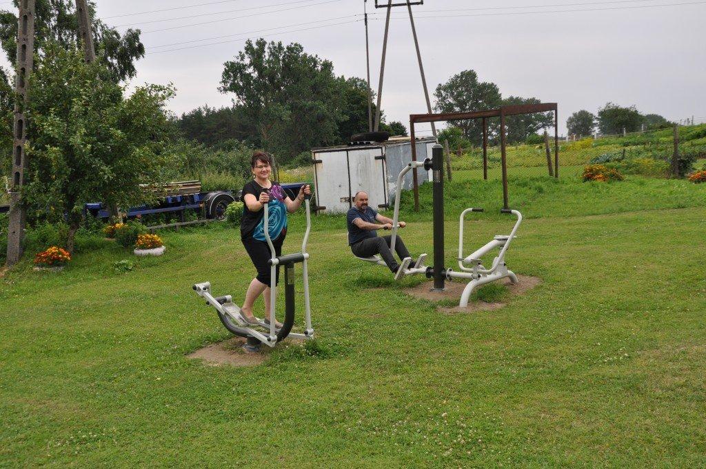 Nowe siłownie zewnętrzne w Gminie Rybno