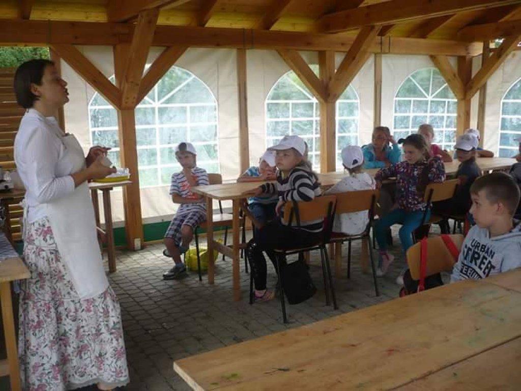 Półkolonie w szkole w Rybnie