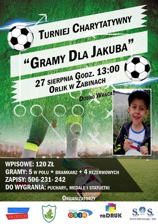 Charytatywny Turniej Piłki Nożnej 'Gramy dla Jakuba'