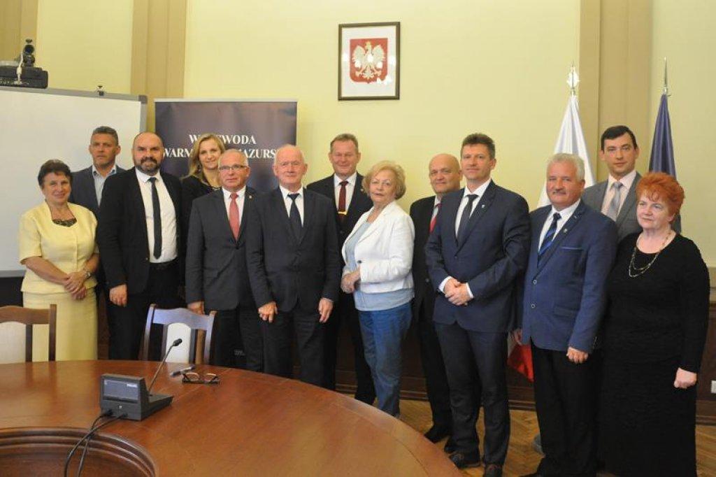 Bezpieczna Gmina Rybno – podpisanie umowy