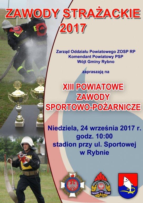 XIII Powiatowe Zawody Sportowo-Pożarnicze