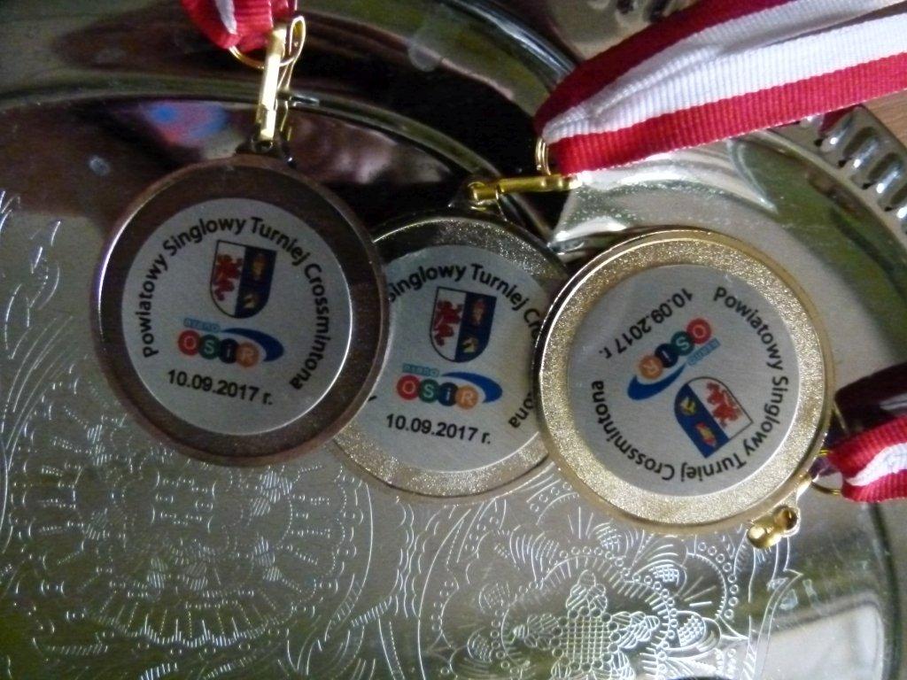 Powiatowy singlowy turniej crossmintona