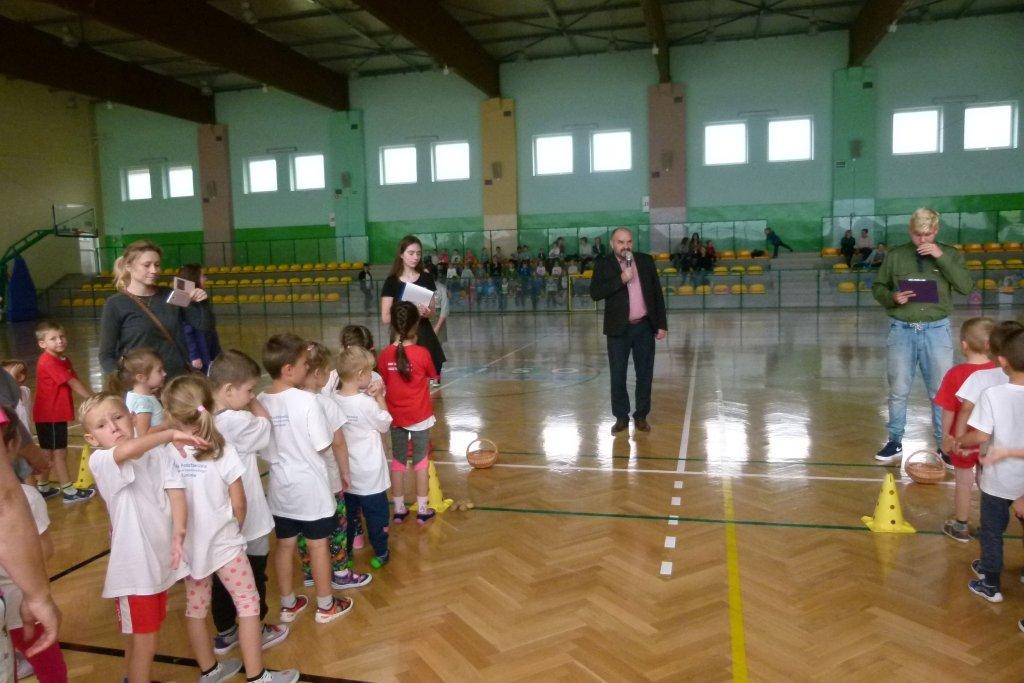 Turniej sprawnościowy przedszkolaków