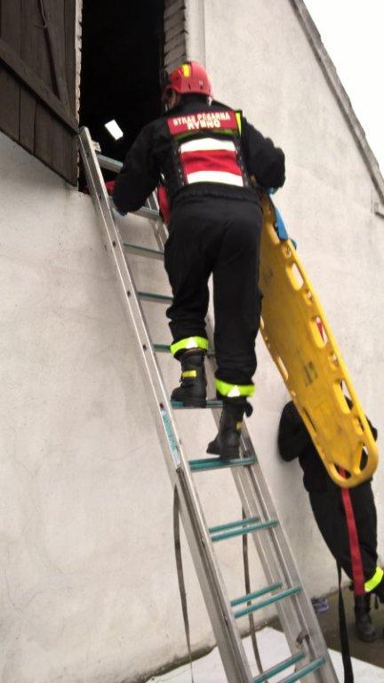 Druhowie z Rybna na zawodach w ratownictwie