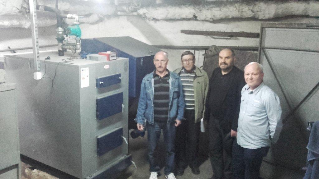 Dokonano dostawy i montażu pieca CO do budynku Ośrodka Zdrowia w Rybnie