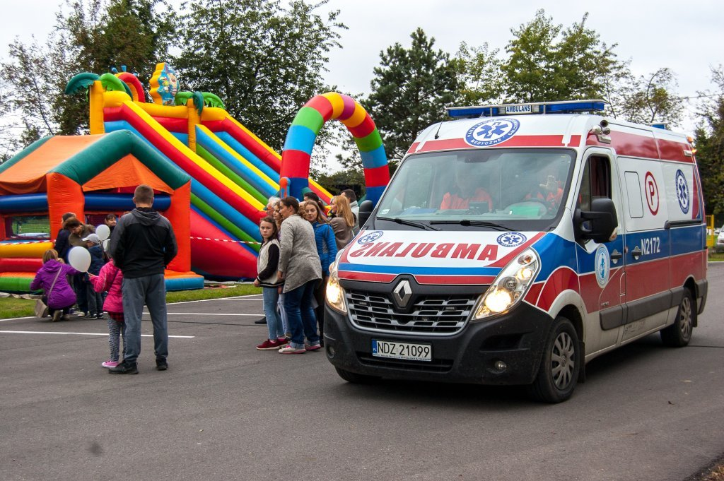 Festyn Rodzinny rozpoczynający projekt Bezpieczna Gmina Rybno