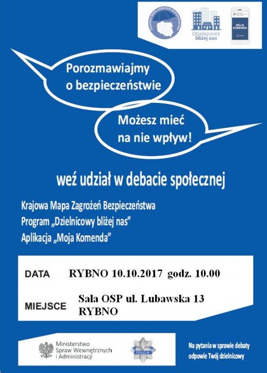 Zaproszenie do udziału w debacie społecznej