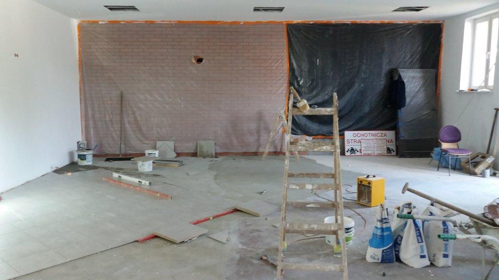 Dębień: Rozpoczął się remont świetlicy wiejskiej