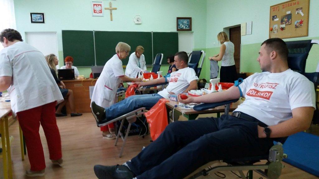 Rybno: 23 osoby oddały krew