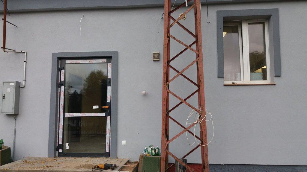 Dębień: Kończy się remont świetlicy wiejskiej