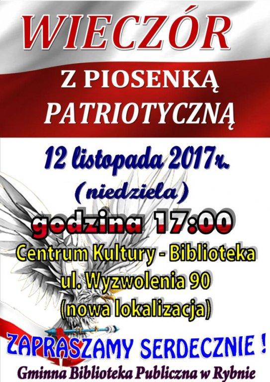 Wieczór z Piosenką Patriotyczną