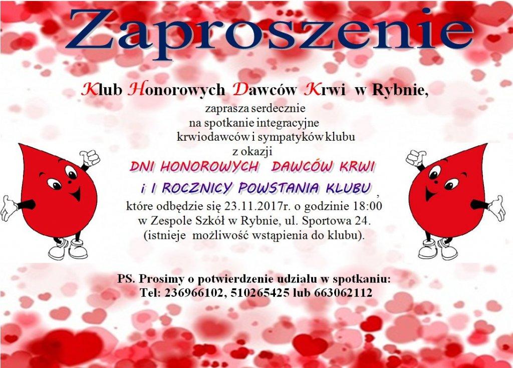 Spotkanie integracyjne krwiodawców