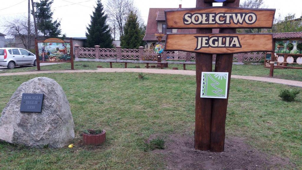 Jeglia: Zagospodarowanie terenu na cele rekreacyjne