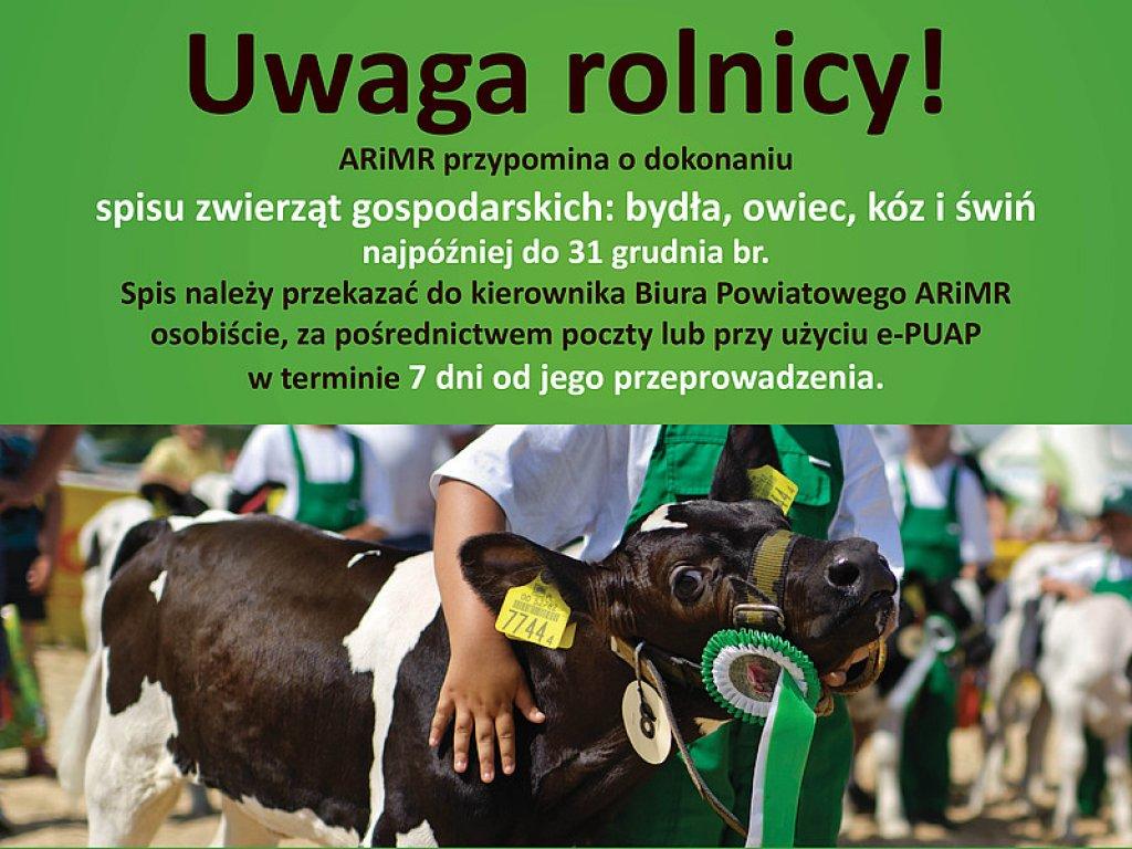 UWAGA ROLNICY!