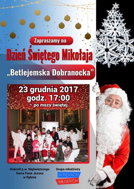 Zapraszamy na Dzień Świętego Mikołaja