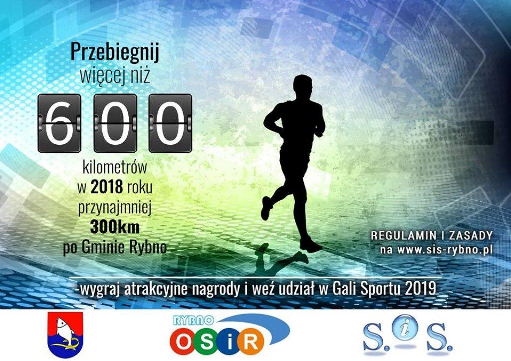 Rozpoczynamy rywalizację '600 km po Gminie Rybno w 2018 roku!'