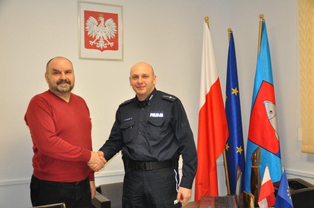 Nowy kierownik posterunku w Rybnie