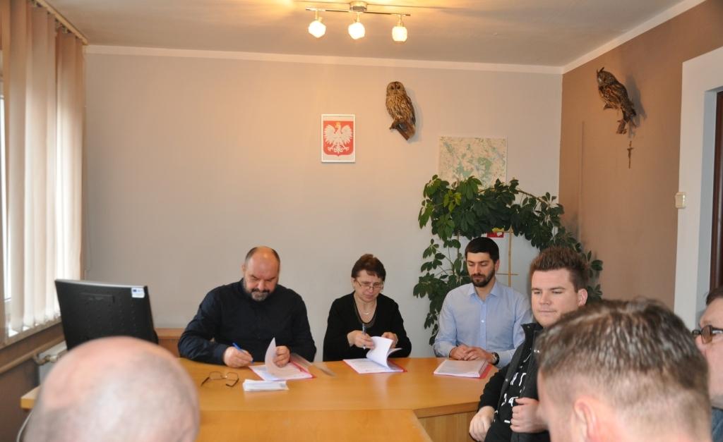 Podpisanie umowy na termomodernizację Urzędu Gminy