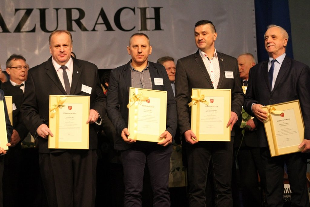 Sołtys Żabin - Edmund Gajek nagrodzony