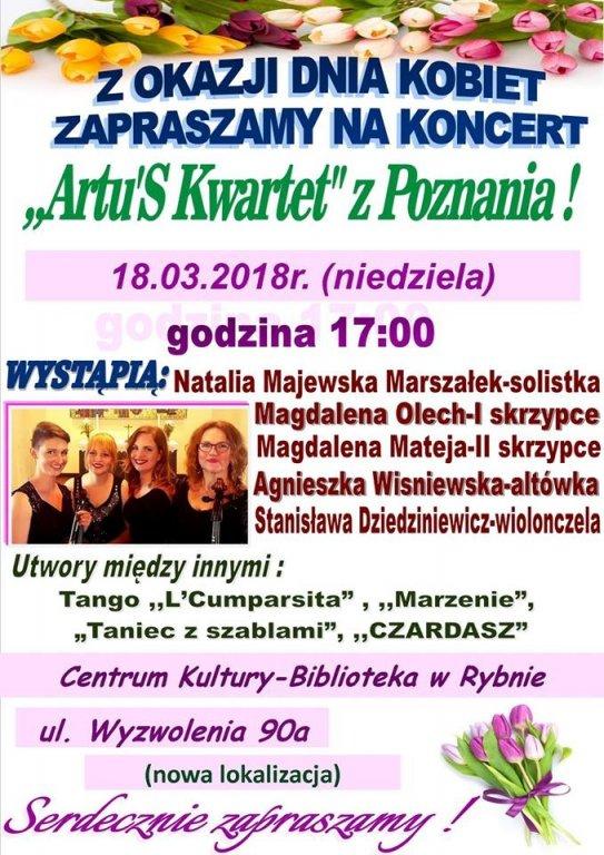 Zapraszamy na Koncert Filharmonii z okazji Dnia Kobiet