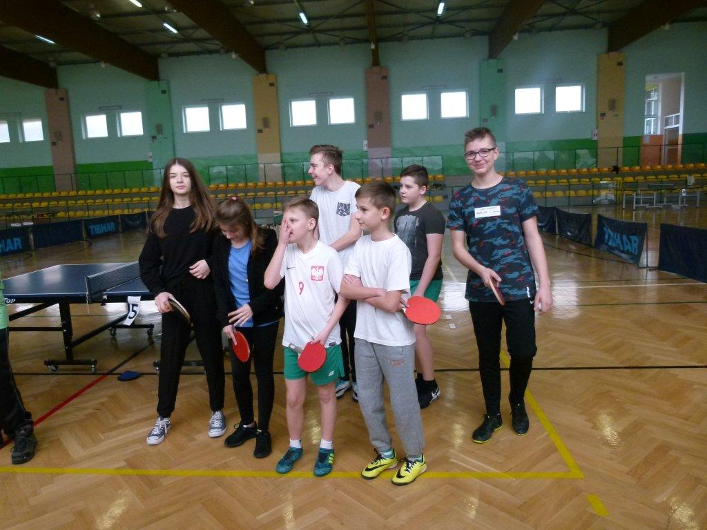 Eliminacje gminne turnieju LZS w tenisie