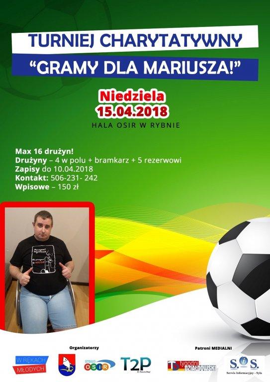 Turniej Charytatywny – Gramy dla Mariusza