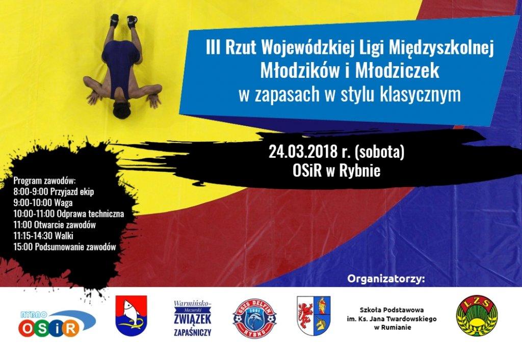 Zapraszamy na Wojewódzkie Mistrzostwa w Zapasach
