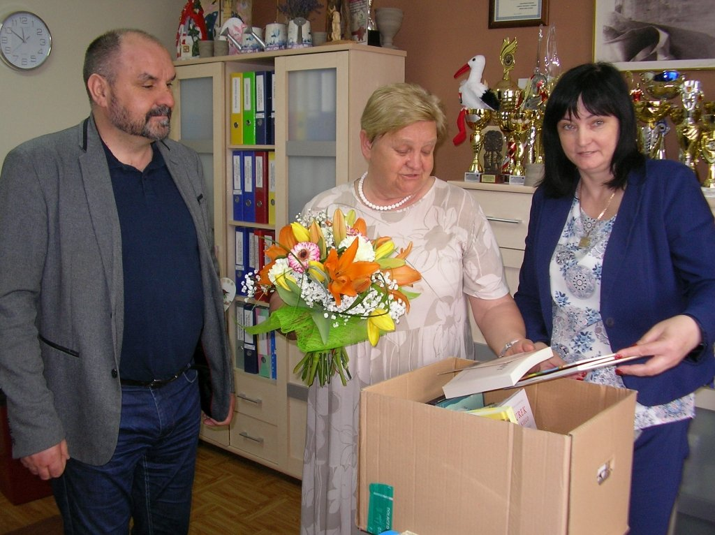 Dr Aleksandra Piotrowska odwiedziła szkołę w Rumianie