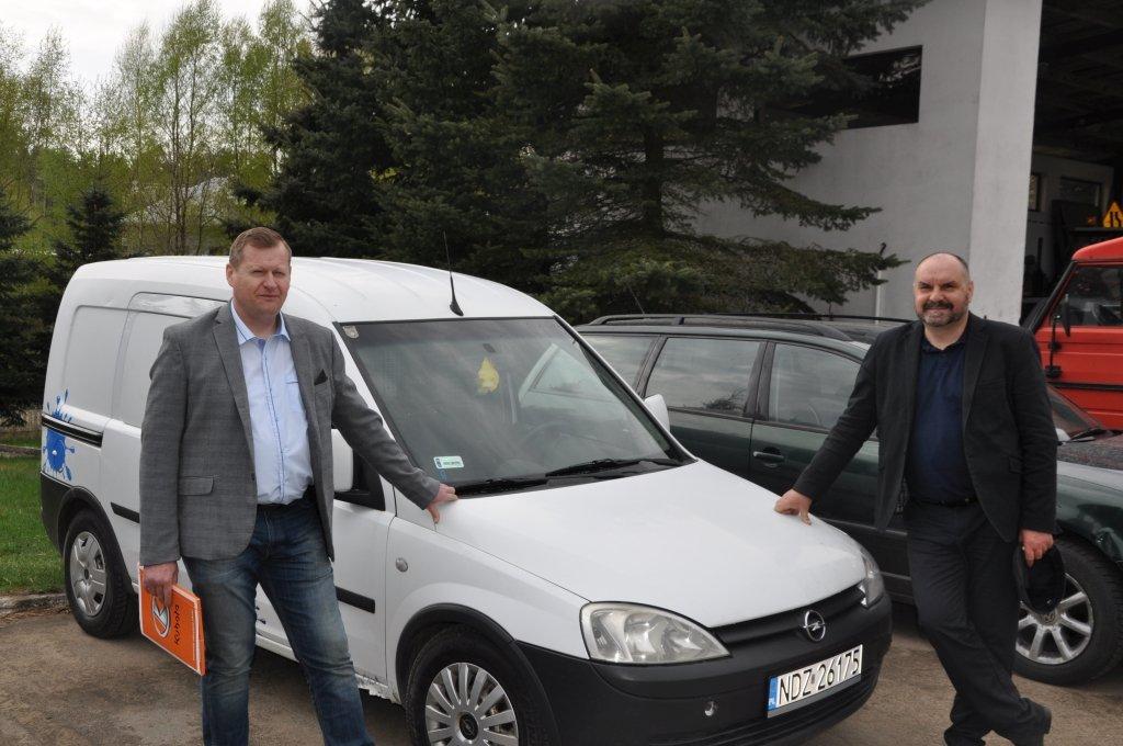 Nowe pojazdy w ZGK