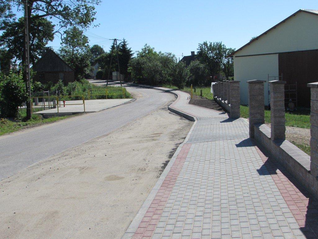 Odbiór chodników