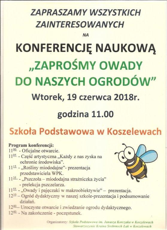 Zapraszamy na konferencję naukową o owadach
