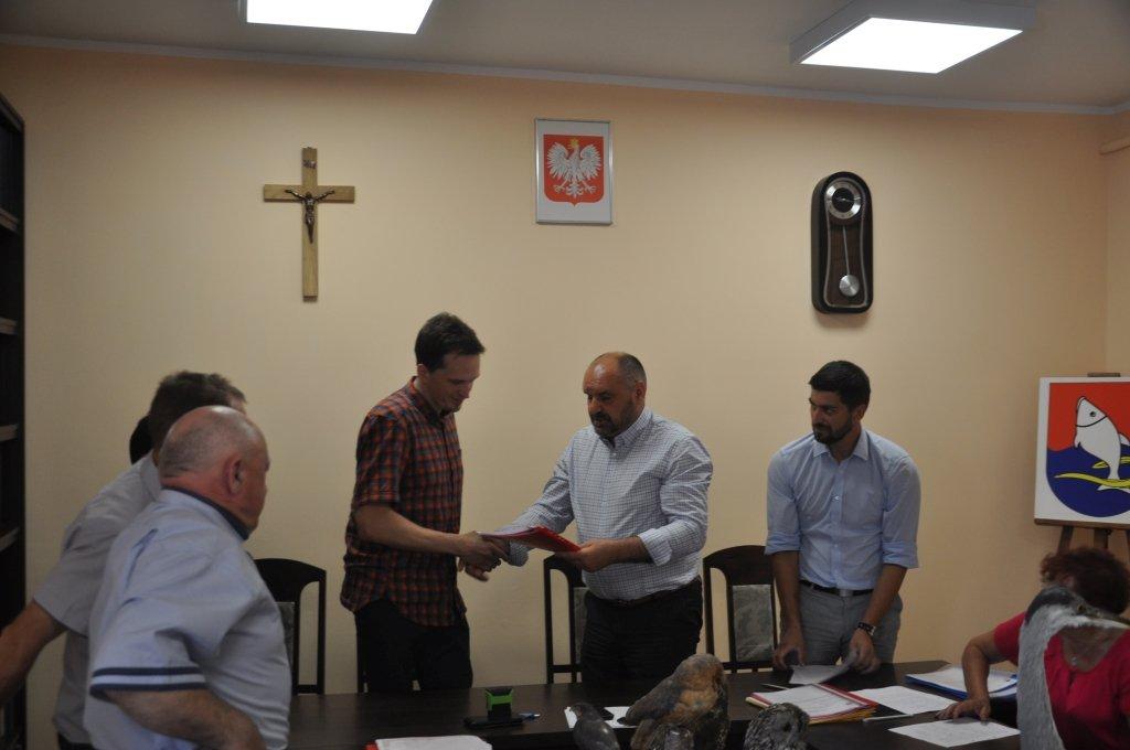 'Senior+' w Jeglii - Podpisanie umowy