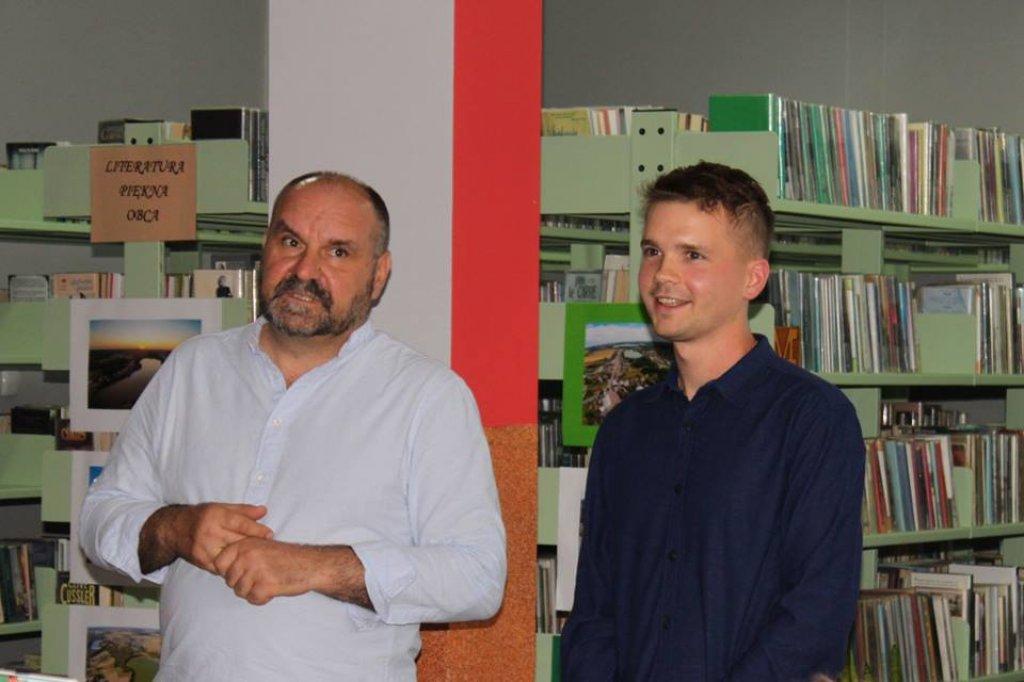 Spotkanie z Danielem Kasprowiczem w Centrum Kultury