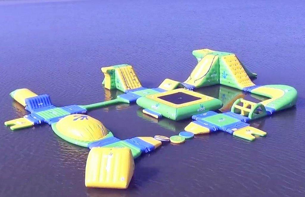 Wodny plac zabaw otwarty