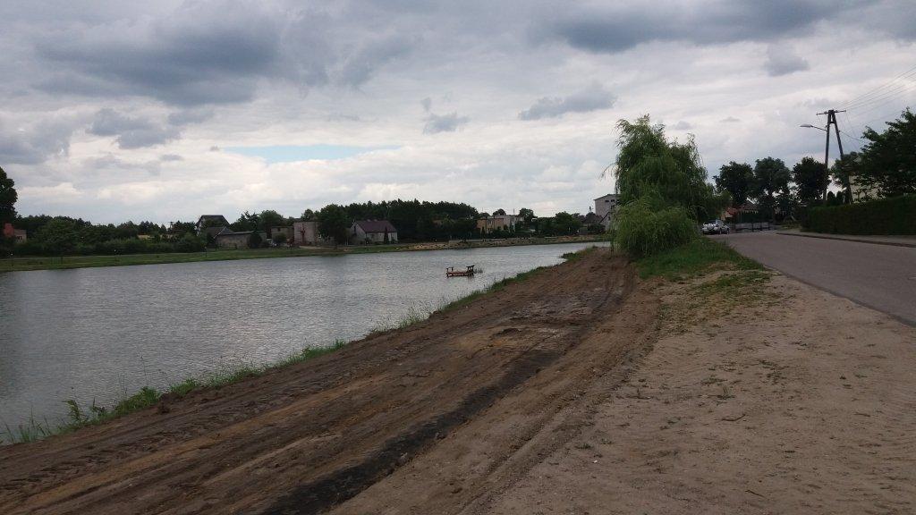 Żabiny: Rusza drugi etap budowy deptaka