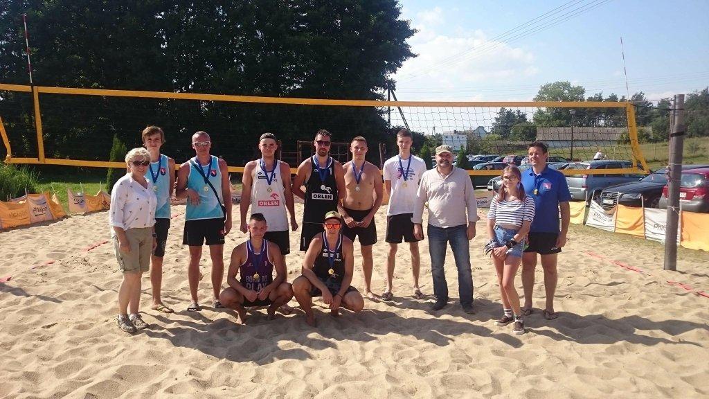 Turniej piłki plażowej z okazji Dni Rybna 2018