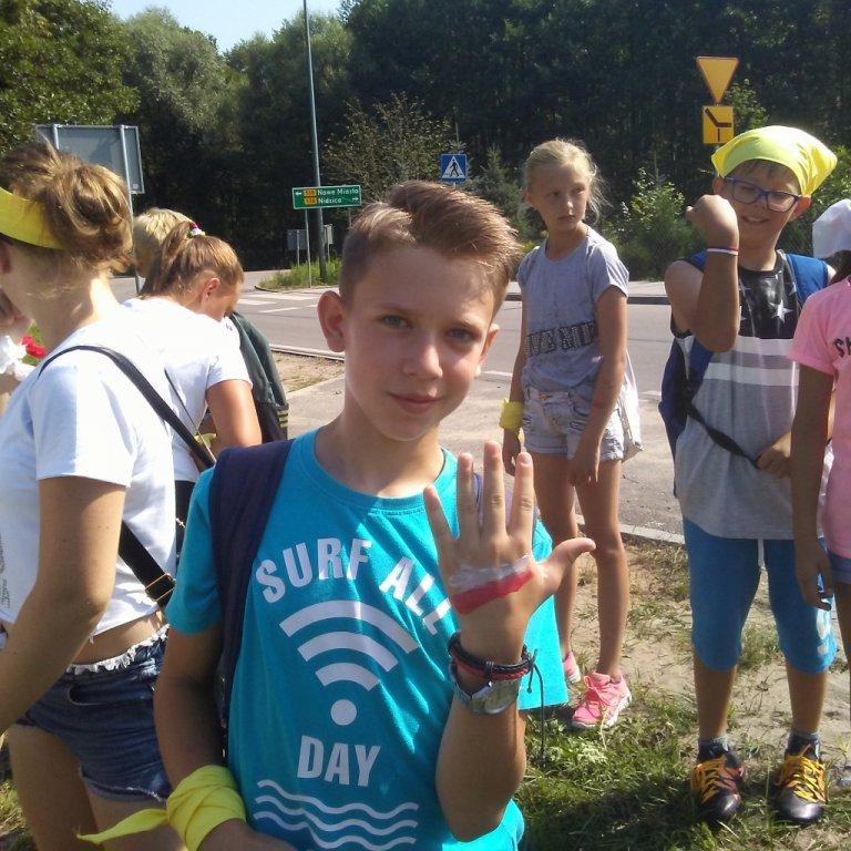 Półkolonie w SP w Rybnie