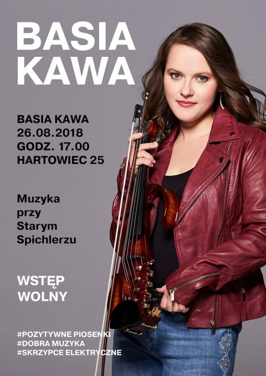 Zapraszamy na koncert Basi Kawy